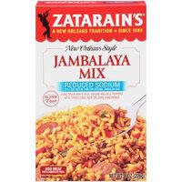 Zatarain's Reduced Sodium Jambalaya Mix, 8 OZ (Pack of 2)
