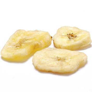 Dried Banana Chips - 1 resealable bag - 2 lbs
