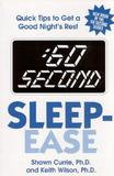 New Horizon Press 60 Second Sleep-Ease Quick Tips to Get a Good Night's Rest