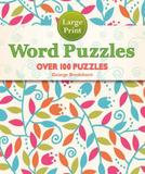 Puzzlewright Large Print Word Puzzles (Paperback)