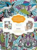 Parragon Books Ltd. Wild: A Keepsake Coloing Tin