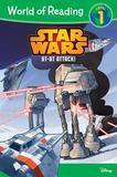 Disney World Of Reading Star Wars At-at Attack! (level 1)