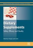 Woodhead Publishing Dietary Supplements: Safety, Efficacy And Quality