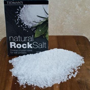 (3 PACK) - Tidmans Natural Rock Salt| 500 g |3 PACK - SUPER SAVER - SAVE MONEY : Grocery & Gourmet Food