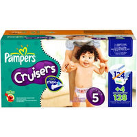 Pampers - Cruisers Diapers with Dry Max, Economy Pack (sizes 3, 4, 5, 6)