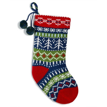Multi-Color Knitted Stocking, Created for Macy's