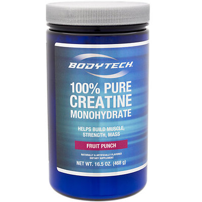 Bodytech 100 Pure Creatine Monohydrate Fruit Punch