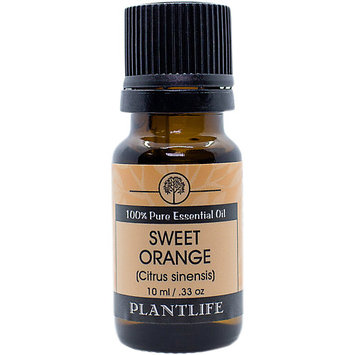 Plantlife Natural Body Care Plantlife Sweet Orange 100% Pure Therapeutic Grade Essential Oil - 10 ml