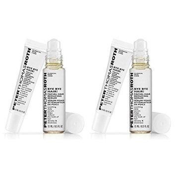 Peter Thomas Roth Cosmetics Bye Bye Hair (Pack of 2) With Allantoin, Castor Oil, Calcium Thioglycolate, Linalool, Hexyl Cinnamal, Amyl Cinnamal, Tocopherol and Glycerin, 0.5 fl. oz. each