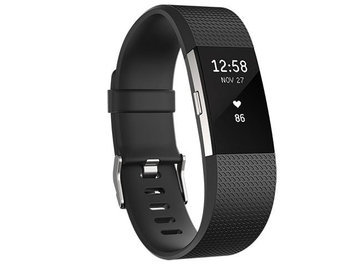 Fitbit Charge 2 - Black, Large by Fitbit
