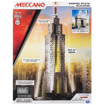 Meccano Empire State Building by Spin Master