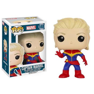 Marvel Unmasked Captain Marvel Pop! Vinyl Figure