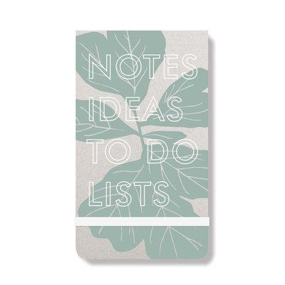Fiddle Leaf Purse Notepad