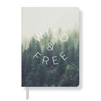 Fringe Studio 'Wild & Free' Paperback Journal - Green