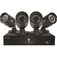 4 Camera 4 Channel 720P Video Security System