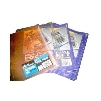 Better Office Products 80630 Carry All Clear 10 x 10 in. Zip Lock