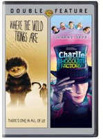 Warner Home Video Where The Wild Things Are/charlie & The Chocolate Factory [dvd/dbfe]