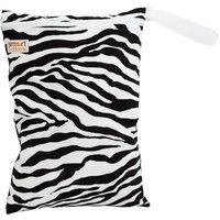 Smart Bottoms Large Smart Bag, Zebra