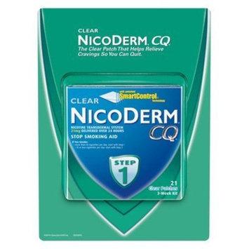 NicoDerm CQ STEP 1 - 3 Week Kit - 21 Clear 21 mg Nicotine Patches