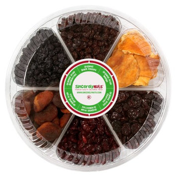 Sincerely Nuts Organic Dried Fruit Gift Tray
