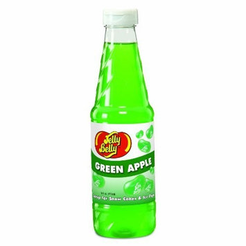 Jelly Belly Green Apple Syrup, 16-Ounce (Pack of 6) (Discontinued by Manufacturer)
