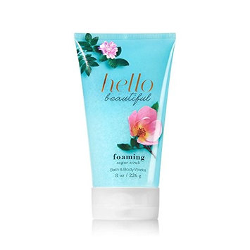 Bath & Body Works Signature Collection HELLO BEAUTIFUL Foaming Sugar Scrub