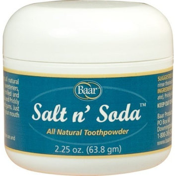 Salt N' Soda Toothpowder, Ioxan Tooth Powder