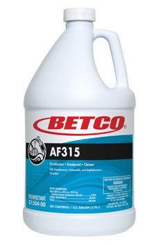 Betco Corporation Ltd Betco AF315 Neutral PH Disinfectant, Detergent and Deodorant - 1 gal (128 fl oz) - Citrus ScentBottle - 4 / Carton - Turquoise