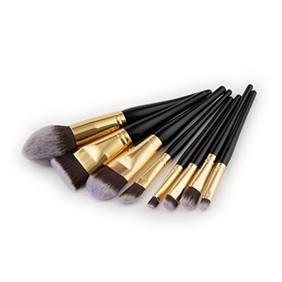 Becoler Makeup Brushes Eyeliner Brushes 8 Pieces