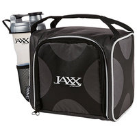 Vitaminder Company Fit and Fresh Jaxx FitPak with Portion Control Container Set and Shaker Cup, Silver