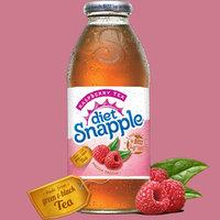 Diet Snapple Raspberry Tea, 16 oz Plastic Bottles