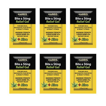Harris 0.12 oz. Insect Bite and Sting Relief Gel (6 Pack)