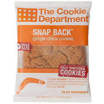 Cookie Department Snap Back Ginger Detox Cookie
