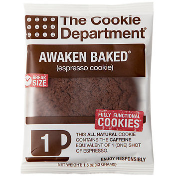 Cookie Department Awaked Baked Caffeinated Espresso Cookie