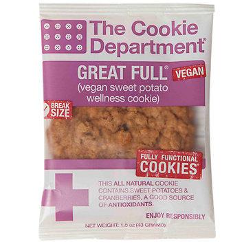 Cookie Department Great Full Sweet Potato Wellness Cookie