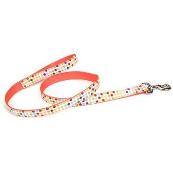 Coastal Pet Products Nyl Ribbon Lead 5/8 X 6Ft Dot