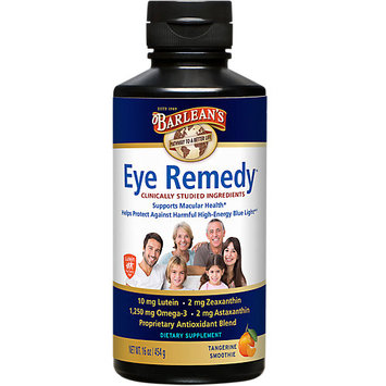 Barleans Eye Remedy Tangerine Smoothie Swirl Barlean's 16 oz Liquid