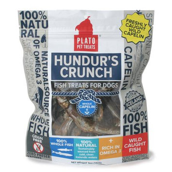 Plato Hundurs Crunch Whole Capelin Dog Treats