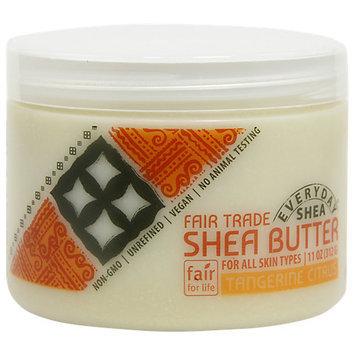 Everyday Shea - Fair Trade Shea Butter Tangerine Citrus - 11 oz.