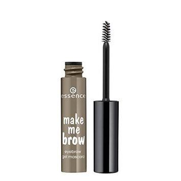 essence Make Me Brow Eyebrow Gel Mascara, 03 Soft Browny Brows by essence cosmetics