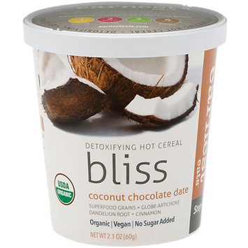 Earnest Eats Detoxifying Hot Cereal Bliss Coconut Chocolate Date 2.1 oz - Vegan