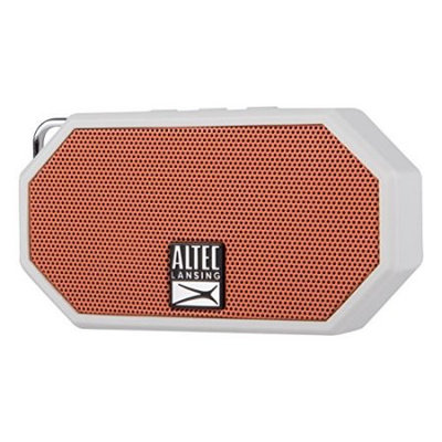 Plantronics Altec Mini H2O Bluetooth Waterproof Speaker Orange