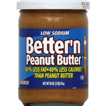 Better N Peanut Butter Spread Low Sodium 16.0 OZ