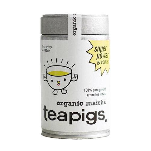 teapigs, Premium Organic Matcha, 80 Grams