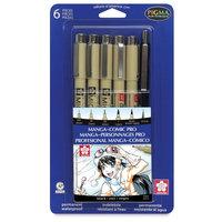 Sakura 50201 Manga-Comic Pro Sketching and Inking Set - 6 Piece