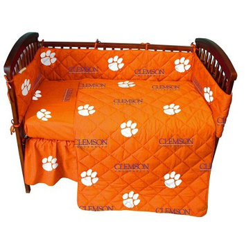 College Covers CLECSFS Clemson Baby Crib Fitted Sheet Solid