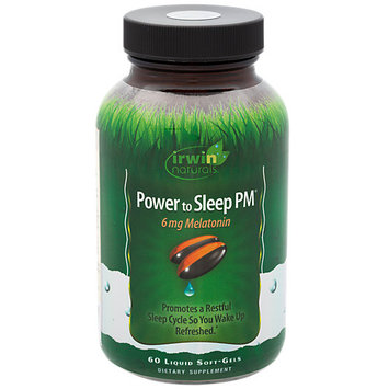 Irwin Naturals Power to Sleep PM with 6 MG Melatonin