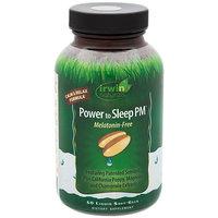 Power to Sleep PM Melatonin Free by Irwin Naturals - 50 Softgels