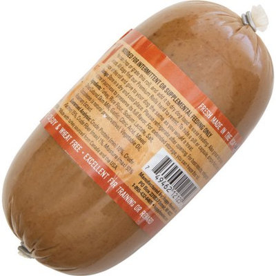 Animal Supply Company HH12125 Gourmet Meat Roll - Turkey