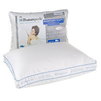 Sealy Posturepedic 300-Thread Count Maintains Shape Extra-Firm Pillow (White)